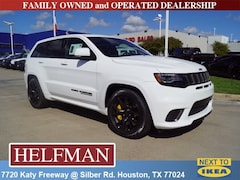 New 2018 Jeep Grand Cherokee TRACKHAWK 4X4 Sport Utility for Sale in Houston, TX at Helfman Dodge Chrysler Jeep Ram