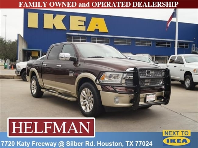 Used 2014 Ram 1500 Longhorn Truck Crew Cab for Sale in Houston, TX at Helfman Dodge Chrysler Jeep Ram