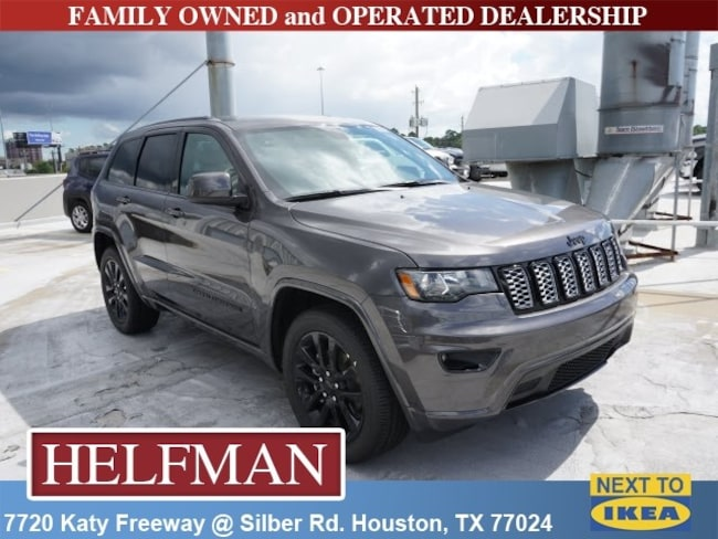 New 2019 Jeep Grand Cherokee ALTITUDE 4X2 Sport Utility for Sale in Houston, TX at Helfman Dodge Chrysler Jeep Ram
