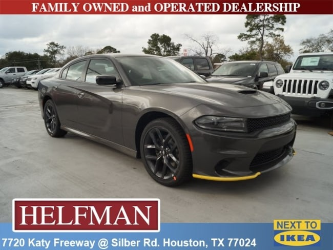 New 2019 Dodge Charger GT RWD Sedan for Sale in Houston, TX at Helfman Dodge Chrysler Jeep Ram