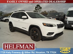 New 2019 Jeep Cherokee ALTITUDE FWD Sport Utility 1C4PJLLBXKD339404 for Sale in Houston, TX at Helfman Dodge Chrysler Jeep Ram