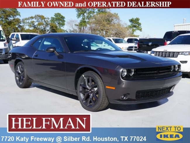 New 2019 Dodge Challenger SXT Coupe for Sale in Houston, TX at Helfman Dodge Chrysler Jeep Ram