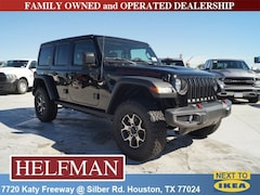 New 2019 Jeep Wrangler UNLIMITED RUBICON 4X4 Sport Utility 1C4HJXFN7KW525441 for Sale in Houston, TX at Helfman Dodge Chrysler Jeep Ram