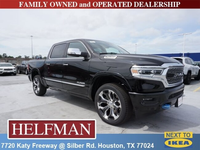 New 2019 Ram 1500 LIMITED CREW CAB 4X4 5'7 BOX Crew Cab for Sale in Houston, TX at Helfman Dodge Chrysler Jeep Ram