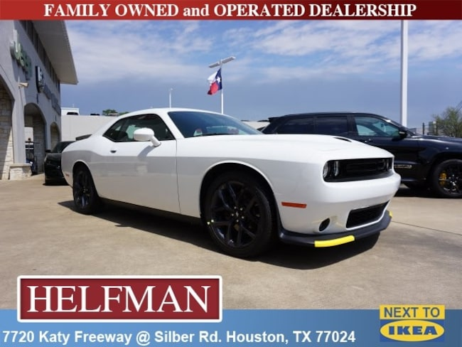 New 2019 Dodge Challenger GT Coupe for Sale in Houston, TX at Helfman Dodge Chrysler Jeep Ram