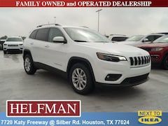 New 2019 Jeep Cherokee LATITUDE FWD Sport Utility 1C4PJLCB7KD396160 for Sale in Houston, TX at Helfman Dodge Chrysler Jeep Ram