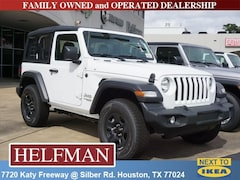 New 2018 Jeep Wrangler SPORT 4X4 Sport Utility 1C4GJXAG5JW242278 for Sale in Houston, TX at Helfman Dodge Chrysler Jeep Ram