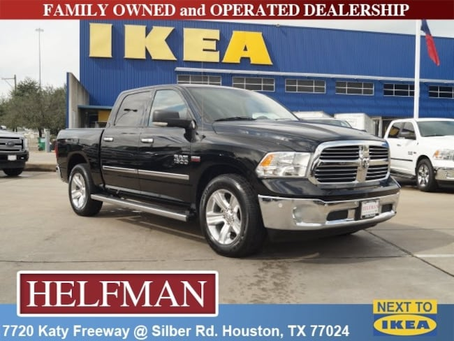 Used 2014 Ram 1500 SLT Truck Crew Cab for Sale in Houston, TX at Helfman Dodge Chrysler Jeep Ram