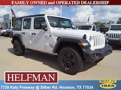 New 2018 Jeep Wrangler UNLIMITED SPORT 4X4 Sport Utility 1C4HJXDG2JW263475 for Sale in Houston, TX at Helfman Dodge Chrysler Jeep Ram