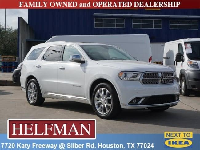 Used 2018 Dodge Durango Citadel SUV for Sale in Houston, TX at Helfman Dodge Chrysler Jeep Ram