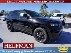 New 2019 Jeep Grand Cherokee ALTITUDE 4X2 Sport Utility 1C4RJEAGXKC672534 for Sale in Houston, TX at Helfman Dodge Chrysler Jeep Ram