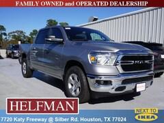 New 2019 Ram 1500 BIG HORN / LONE STAR CREW CAB 4X2 5'7 BOX Crew Cab 1C6RREFGXKN705335 for Sale in Houston, TX at Helfman Dodge Chrysler Jeep Ram