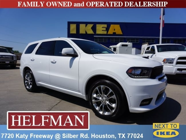Used 2019 Dodge Durango R/T SUV for Sale in Houston, TX at Helfman Dodge Chrysler Jeep Ram