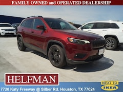 New 2019 Jeep Cherokee ALTITUDE FWD Sport Utility 1C4PJLLB0KD396162 for Sale in Houston, TX at Helfman Dodge Chrysler Jeep Ram