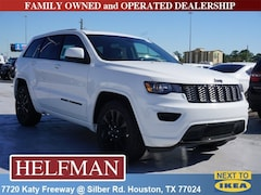 New 2019 Jeep Grand Cherokee ALTITUDE 4X2 Sport Utility 1C4RJEAGXKC614827 for Sale in Houston, TX at Helfman Dodge Chrysler Jeep Ram
