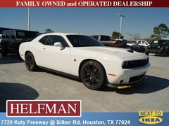 New 2019 Dodge Challenger R/T SCAT PACK Coupe 2C3CDZFJ0KH586840 for Sale in Houston, TX at Helfman Dodge Chrysler Jeep Ram