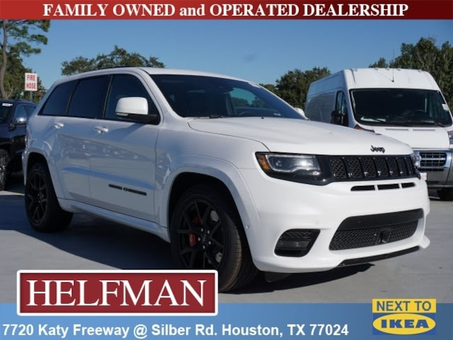 new 2019 jeep grand cherokee srt 4x4 for sale in houston near spring tx katy tx kc565054. Black Bedroom Furniture Sets. Home Design Ideas
