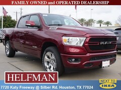 New 2019 Ram 1500 BIG HORN / LONE STAR CREW CAB 4X2 5'7 BOX Crew Cab 1C6RREFT4KN705344 for Sale in Houston, TX at Helfman Dodge Chrysler Jeep Ram