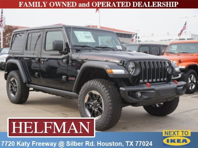 New 2018 Jeep Wrangler UNLIMITED RUBICON 4X4 Sport Utility for Sale in Houston, TX at Helfman Dodge Chrysler Jeep Ram