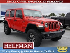 New 2018 Jeep Wrangler UNLIMITED RUBICON 4X4 Sport Utility 1C4HJXFN1JW198680 for Sale in Houston, TX at Helfman Dodge Chrysler Jeep Ram