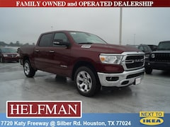 New 2019 Ram 1500 BIG HORN / LONE STAR CREW CAB 4X2 5'7 BOX Crew Cab 1C6RREFG0KN763843 for Sale in Houston, TX at Helfman Dodge Chrysler Jeep Ram