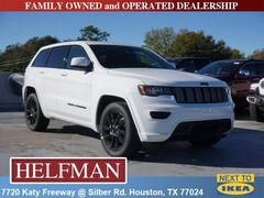 New 2019 Jeep Grand Cherokee ALTITUDE 4X2 Sport Utility 1C4RJEAGXKC614830 for Sale in Houston, TX at Helfman Dodge Chrysler Jeep Ram