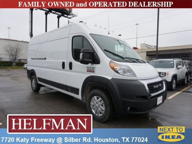 New 2019 Ram ProMaster 2500 CARGO VAN HIGH ROOF 159 WB Cargo Van for Sale in Houston, TX at Helfman Dodge Chrysler Jeep Ram