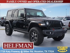 New 2018 Jeep Wrangler UNLIMITED RUBICON 4X4 Sport Utility 1C4HJXFG0JW318258 for Sale in Houston, TX at Helfman Dodge Chrysler Jeep Ram