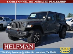 New 2018 Jeep Wrangler UNLIMITED RUBICON 4X4 Sport Utility 1C4HJXFN8JW242903 for Sale in Houston, TX at Helfman Dodge Chrysler Jeep Ram