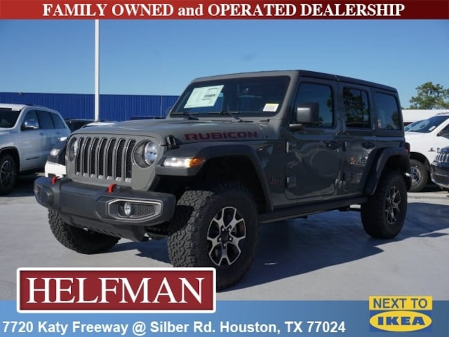 new 2018 jeep wrangler unlimited rubicon 4x4 for sale in houston near spring tx katy tx jw242903. Black Bedroom Furniture Sets. Home Design Ideas
