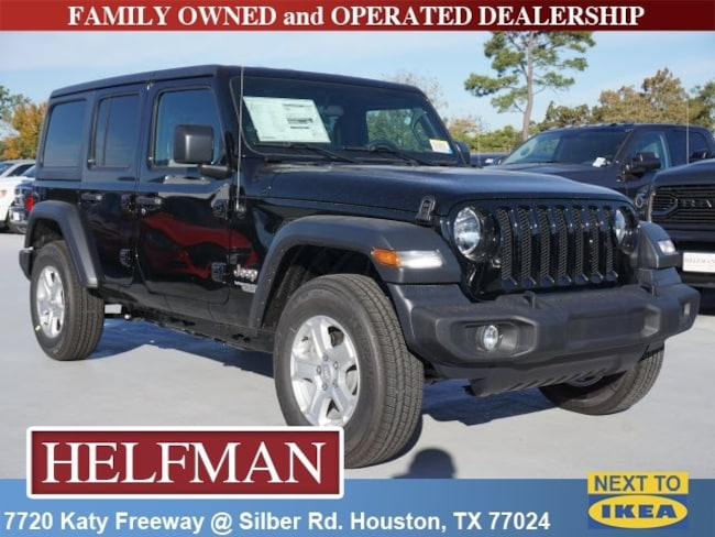 New 2019 Jeep Wrangler Unlimited Sport S 4x4 For Sale In Houston