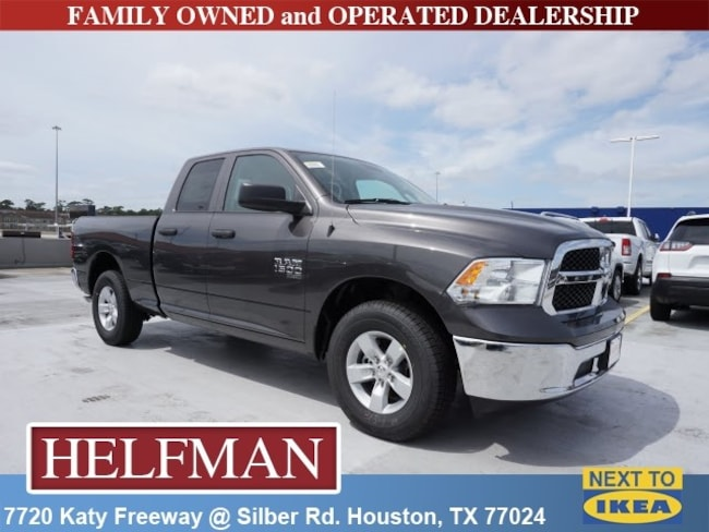 New 2019 Ram 1500 CLASSIC TRADESMAN QUAD CAB 4X2 6'4 BOX Quad Cab for Sale in Houston, TX at Helfman Dodge Chrysler Jeep Ram