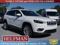 New 2019 Jeep Cherokee LATITUDE FWD Sport Utility 1C4PJLCB0KD331795 for Sale in Houston, TX at Helfman Dodge Chrysler Jeep Ram