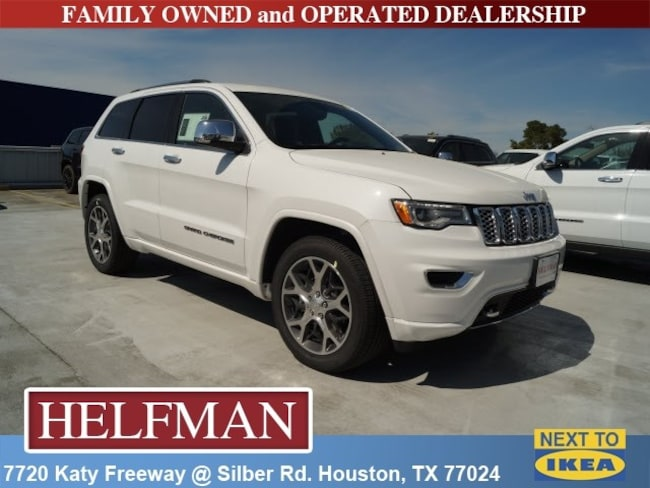 New 2019 Jeep Grand Cherokee OVERLAND 4X2 Sport Utility for Sale in Houston, TX at Helfman Dodge Chrysler Jeep Ram