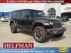 New 2018 Jeep Wrangler UNLIMITED RUBICON 4X4 Sport Utility 1C4HJXFN7JW213747 for Sale in Houston, TX at Helfman Dodge Chrysler Jeep Ram