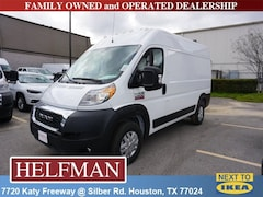 New 2019 Ram ProMaster 2500 CARGO VAN HIGH ROOF 136 WB Cargo Van for Sale in Houston, TX at Helfman Dodge Chrysler Jeep Ram