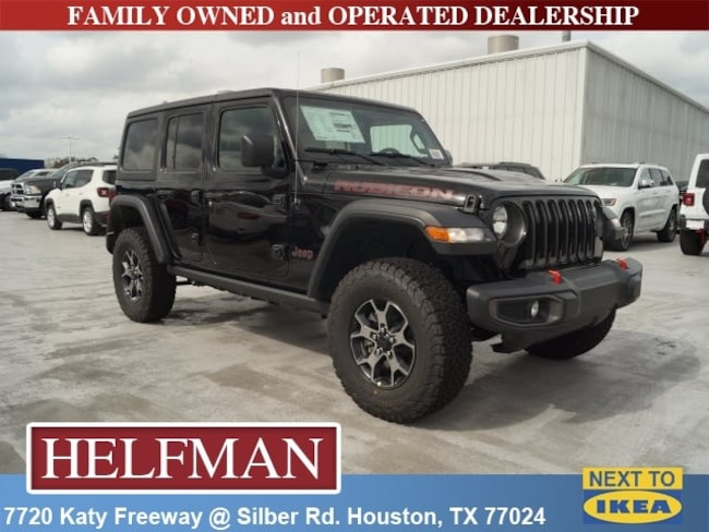 New 2019 Jeep Wrangler UNLIMITED RUBICON 4X4 Sport Utility for Sale in Houston, TX at Helfman Dodge Chrysler Jeep Ram