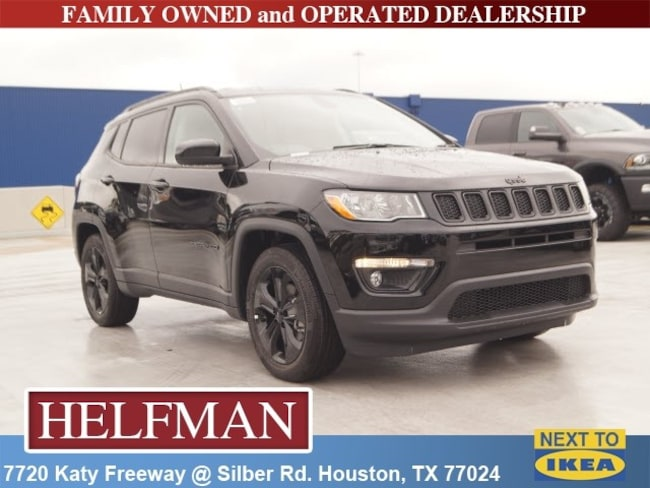 New 2019 Jeep Compass ALTITUDE FWD Sport Utility for Sale in Houston, TX at Helfman Dodge Chrysler Jeep Ram