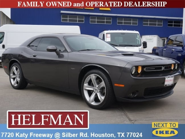 Used 2018 Dodge Challenger R/T Coupe for Sale in Houston, TX at Helfman Dodge Chrysler Jeep Ram