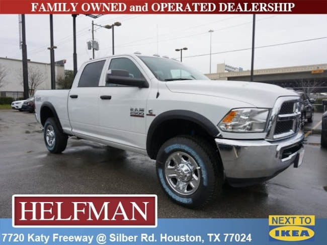 New 2018 Ram 2500 TRADESMAN CREW CAB 4X4 6'4 BOX Crew Cab for Sale in Houston, TX at Helfman Dodge Chrysler Jeep Ram