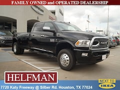 New 2018 Ram 3500 LIMITED CREW CAB 4X4 8' BOX Crew Cab 3C63RRKL5JG429394 for Sale in Houston, TX at Helfman Dodge Chrysler Jeep Ram