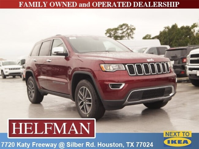 new 2019 jeep grand cherokee limited 4x4 for sale in houston near spring tx katy tx kc554814. Black Bedroom Furniture Sets. Home Design Ideas