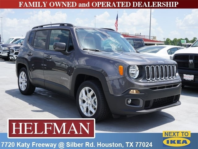 New 2018 Jeep Renegade LATITUDE 4X2 Sport Utility For Sale In Houston, TX  At Helfman
