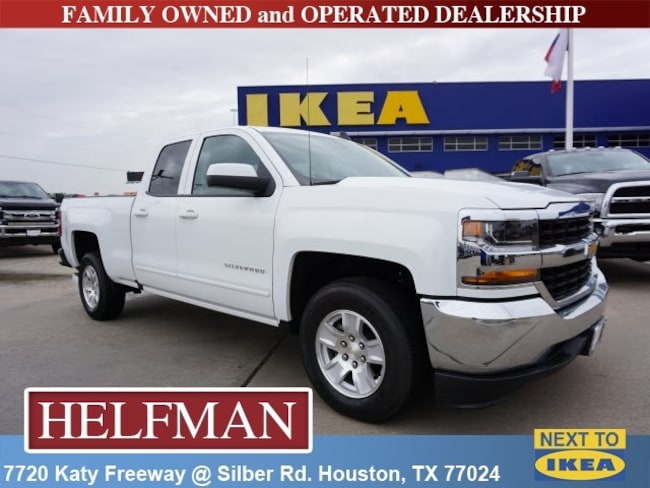Used 2018 Chevrolet Silverado 1500 LT w/1LT Truck Double Cab for Sale in Houston, TX at Helfman Dodge Chrysler Jeep Ram