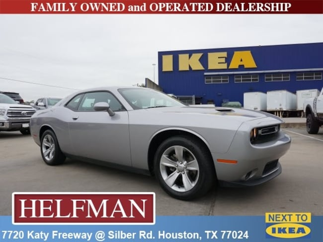 Used 2018 Dodge Challenger SXT Coupe for Sale in Houston, TX at Helfman Dodge Chrysler Jeep Ram