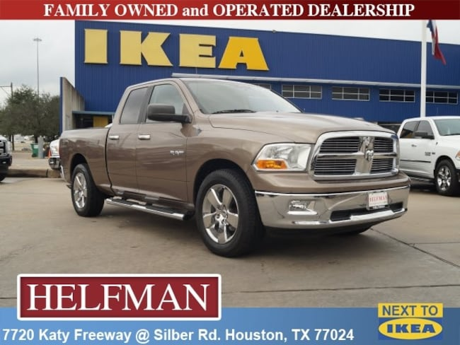 Used 2009 Dodge Ram 1500 SLT/Sport/TRX Truck Quad Cab for Sale in Houston, TX at Helfman Dodge Chrysler Jeep Ram