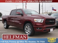New 2019 Ram 1500 BIG HORN / LONE STAR CREW CAB 4X2 5'7 BOX Crew Cab 1C6RREFT1KN684968 for Sale in Houston, TX at Helfman Dodge Chrysler Jeep Ram
