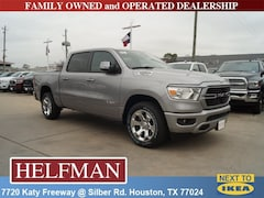 New 2019 Ram 1500 BIG HORN / LONE STAR CREW CAB 4X2 5'7 BOX Crew Cab 1C6RREFTXKN705347 for Sale in Houston, TX at Helfman Dodge Chrysler Jeep Ram