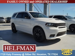 New 2019 Dodge Durango GT PLUS RWD Sport Utility for Sale in Houston, TX at Helfman Dodge Chrysler Jeep Ram