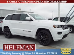 New 2019 Jeep Grand Cherokee ALTITUDE 4X2 Sport Utility 1C4RJEAG4KC533550 for Sale in Houston, TX at Helfman Dodge Chrysler Jeep Ram
